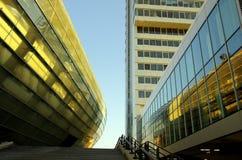 Klimahaus, de Atlantische Stad van het Zeil van het Hotel, Bremerhaven Stock Foto