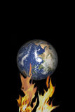 Klimaänderung Lizenzfreie Stockfotos