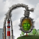 Klimaselbstmord Stockbild