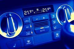 Klimasteuerung im Automobil Lizenzfreies Stockbild