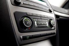 klimat samochodowa kontrola Zdjęcia Stock
