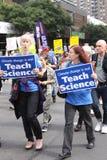 Klimatmars NYC 2014 Royaltyfri Fotografi