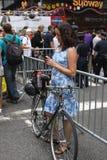 Klimatmars NYC 2014 Fotografering för Bildbyråer