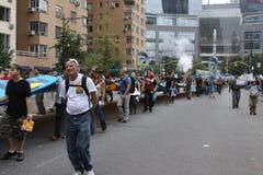Klimatmars NYC 2014 Royaltyfria Bilder