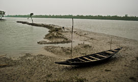 Klimawandel in Sundarban, Indien Stockfoto