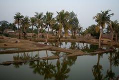 Klimawandel in Sundarban, Indien Lizenzfreies Stockfoto