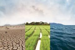 Klimawandel und Klimakonzept Lizenzfreie Stockfotografie