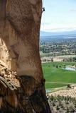 Klimmer op overhangende klip van Aapgezicht Royalty-vrije Stock Afbeelding
