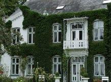 klimop villa royalty-vrije stock fotografie
