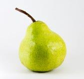 Klimpigt grönt päron Royaltyfri Fotografi