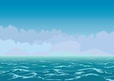 klimpigt hav Arkivbild