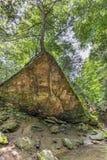 Klin skała przy Turcja bieg zdjęcie stock