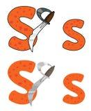 Klinge des Zeichens S Lizenzfreie Stockfotografie