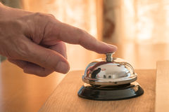 Klingeln des Services Bell Stockfoto