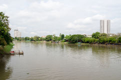Klingeln-Fluss, Chiang Mai Stockfotografie