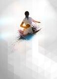 Klingeln pong Hintergrund Lizenzfreies Stockbild