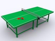 Klingeln pong Tabelle Stockfoto