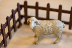 Klingerytów zabawkarscy zwierzęta gospodarskie w preschool zdjęcia royalty free