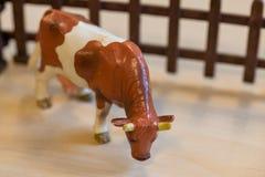 Klingerytów zabawkarscy zwierzęta gospodarskie w preschool obraz royalty free