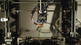 Klingerytów biegać 3D drukarka 4K zbiory wideo