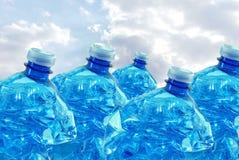 Klingeryt butelki dla przetwarzać Zdjęcie Royalty Free
