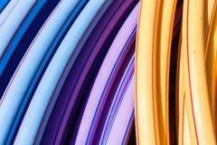 Klingeryt Piszczy kolory Teletechnicznych fotografia stock
