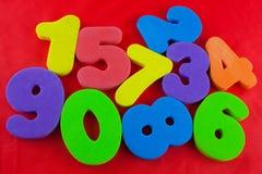 Klingeryt liczby Zdjęcia Stock