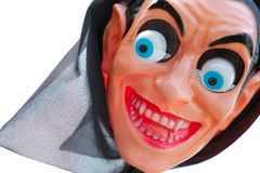 Klingeryt maska - strach na wróble Zdjęcia Stock