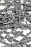 Klingeryt wzorcowe części A Zdjęcia Royalty Free