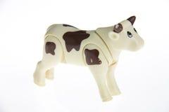 Klingeryt zabawkarska krowa obrazy royalty free