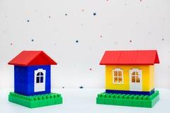 Klingeryt zabawki dom obraz stock
