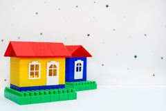 Klingeryt zabawki dom zdjęcia royalty free