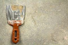 Klingerytu i metalu narzędzie dla gipsować pracy Zdjęcie Royalty Free