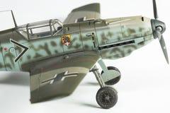 klingerytu model drugi wolrd wojny samolot Zdjęcia Royalty Free