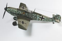 klingerytu model drugi wolrd wojny samolot Zdjęcie Royalty Free