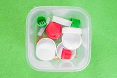 Klingerytu odpady i swój korzyści ?rodowisko ochrona zdjęcia stock