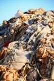 Klingerytu odpady Przetwarzać - Akcyjny wizerunek Zdjęcia Stock