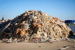 Klingerytu odpady Przetwarzać - Akcyjny wizerunek Zdjęcie Stock