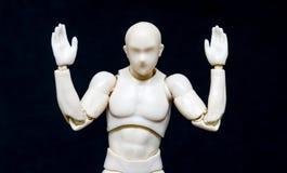 Klingerytu udźwigu Wzorcowa ręka Zdjęcie Royalty Free