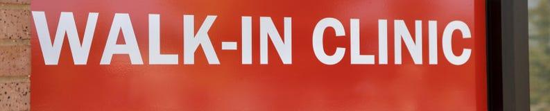 Klinik, Besucher ohne Voranmeldung Lizenzfreie Stockfotografie