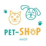 Klinikaffärsbakgrund för husdjur Arkivbilder