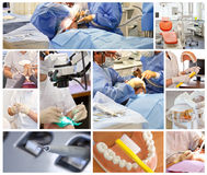 kliniktandläkare Royaltyfri Fotografi