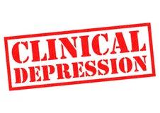 Klinische depressie vector illustratie