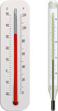 Klinische en weerthermometer Stock Afbeelding