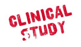 Klinischer Studienstempel Lizenzfreies Stockbild
