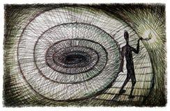 Klinisk psykologi för begrepp stock illustrationer