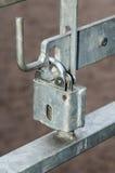 Klinken op openbare poorten Royalty-vrije Stock Foto