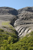 Klinker neigt sich nahe perito morena Gletscher, Chile Lizenzfreies Stockfoto