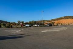 Klinkeranlage in Alcorisa stockfotografie