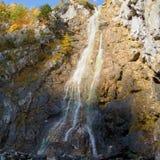 Klinserfall waterfall in totes gebirge mountains Royalty Free Stock Image